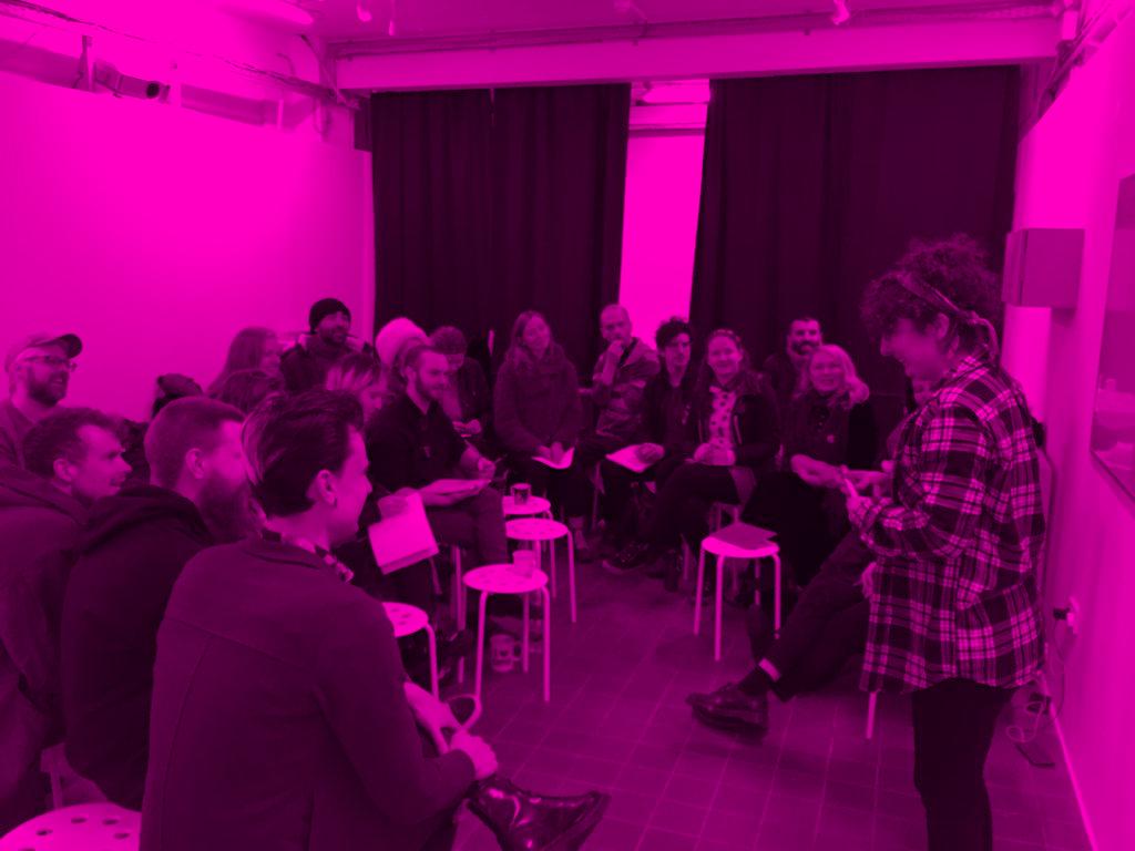 Praxis Artist Union Meeting